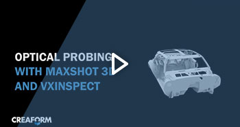 Optical probing using MaxSHOT 3D and VXinspect