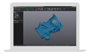 VXMODEL软件:可将3D扫描数据整合至CAD 软件模块