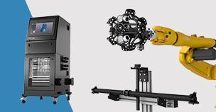 Creaform推出R-Series产品线高效工作站和自动校准工具包