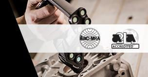 Creaform ISO 17025 Certification