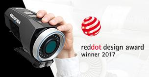 Creaform MaxSHOT Next wins Red Dot Product Design Award 2017