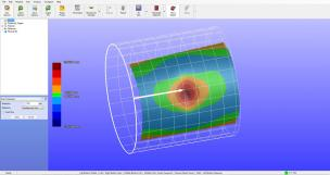 Denting 3D View with Grid