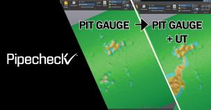 Pipecheck now compatible with UT testing devices