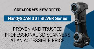 Creaform releases the HandySCAN 3D | SILVER series