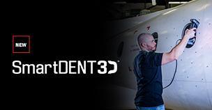 Creaform 推出 SmartDENT 3D,一款用于航空航天行业的强大 NDT 表面损伤分析软件